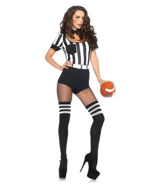 Undisziplinierte Schiedsrichterin Kostüm für Damen