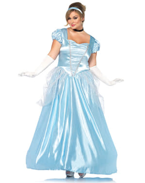 Plus Size Crystal Shoe Princess Costume for Women