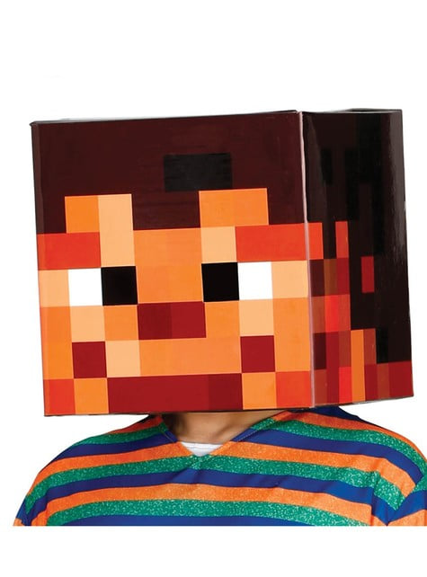 30cm x 30cm Pixelated Head