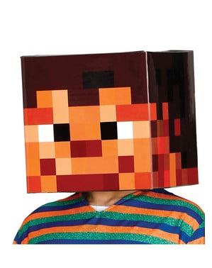 Pixeleret hoved 30 x 30 cm
