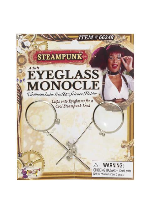 Steampunkový monokl na brýle pro dospělé