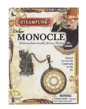 Monoclu Steampunk deluxe