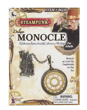 Monóculo Steampunk deluxe
