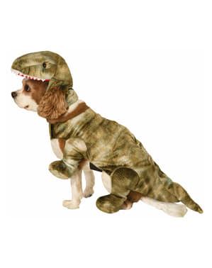 Costum pui de dinozaur pentru cățel