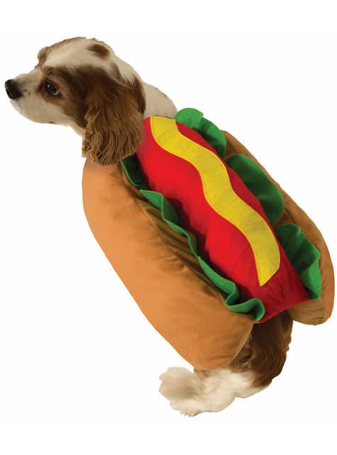 犬のホットドッグコスチューム
