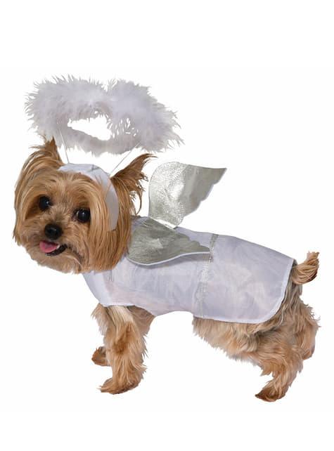 Fato de anjo para cão