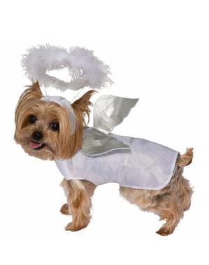 Costum de înger pentru cățel