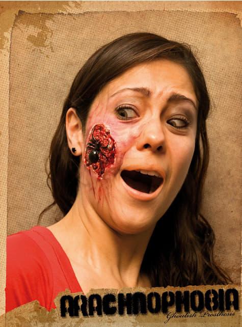 Maquillaje Arachnophobia halloween