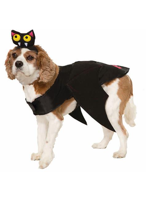 犬のバットコスチューム