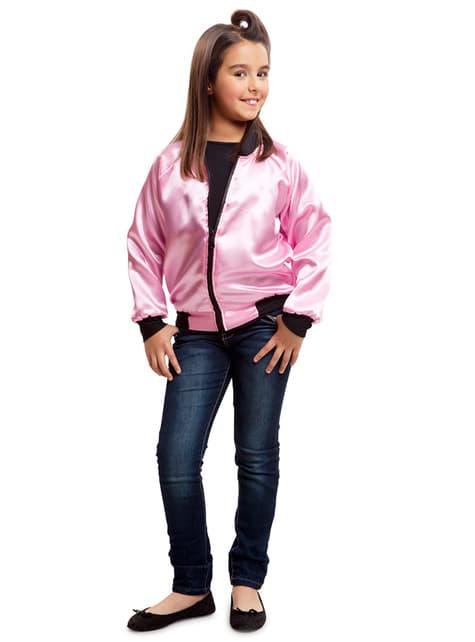 Chaqueta de pink girl 50s para niña