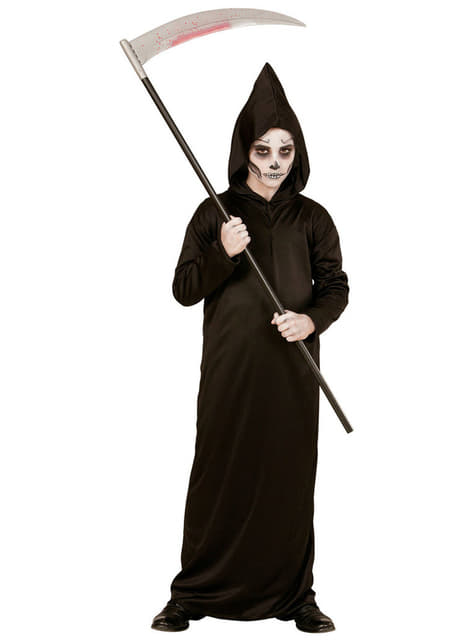 Düsteres Todes Kostüm für Jungen Classic