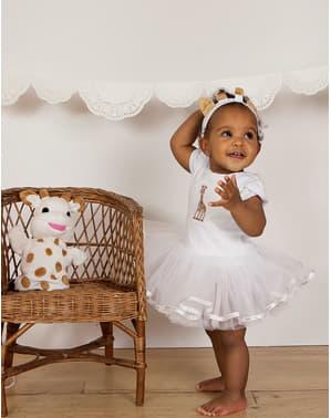 Disfraz de Jirafa Sophie la jirafa tutú para bebé