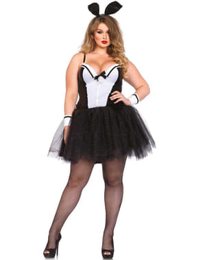 Women's Plus Size Bunny Costume