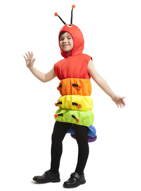Déguisement mille pattes multicolore enfant