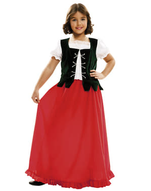 Girl's Dulcinea the Maid Costume