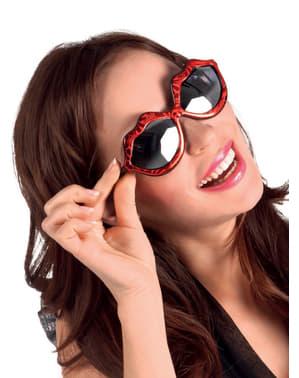 Gafas de labios para mujer