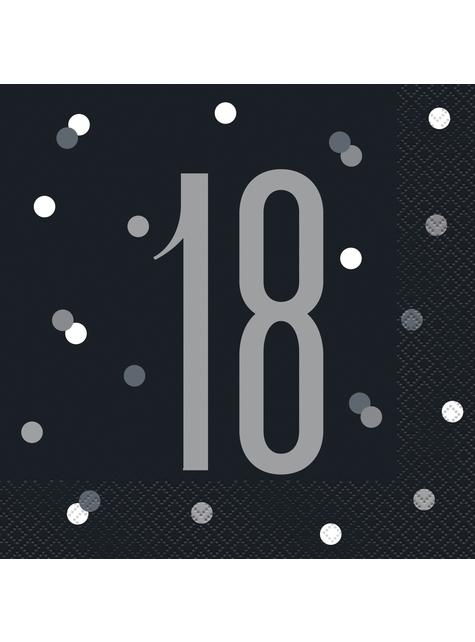 16 servilletas