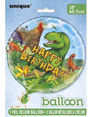 Balão de dinossauros