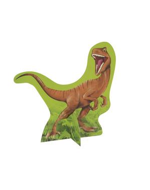 Dinosaur og Vulkan Bordpynt - Dinosaur