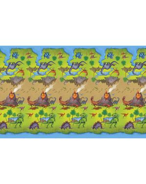 Mantel de dinosaurios rectangular - Dinosaur