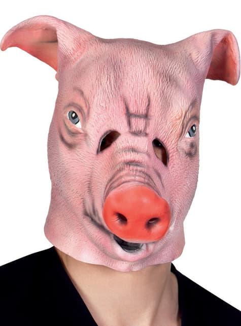 Adult's Farm Pig Mask