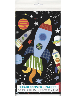 Rectangular Space Table Cover - Outer Space