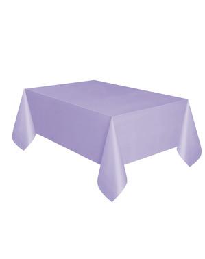 Nappe lila rectangulaire - Gamme couleur unie