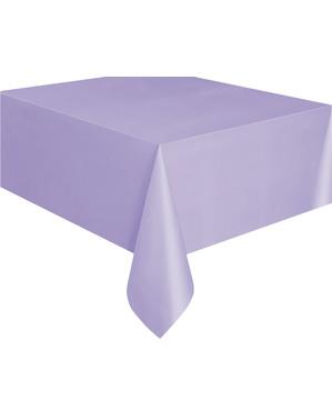 Rechteckige Tischdecke lila - Basicfarben Collection