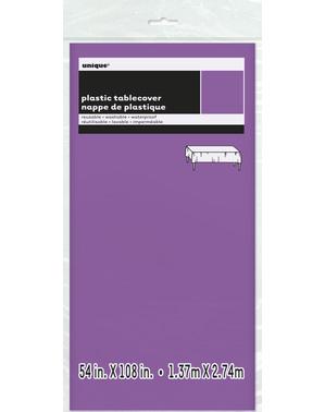 Prostokątny Fioletowy Obrus - Linia Kolorów Podstawowych