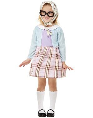 Disfraz de abuela para niña