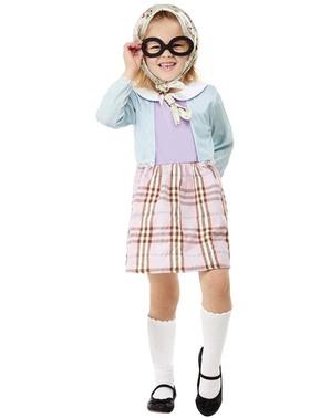 Oma Kostüm für Mädchen