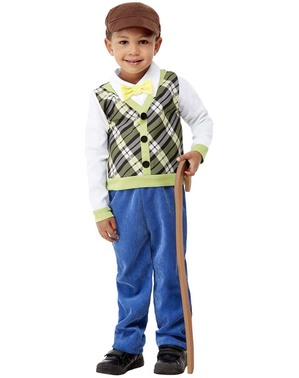 Disfraz de abuelo para niño