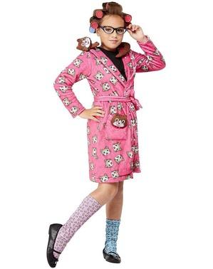 Skør Kattedame Kostume til Piger