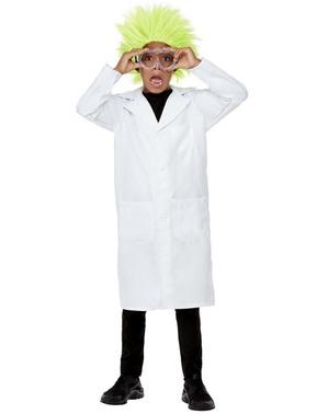 Wetenschapper pruik voor jongens
