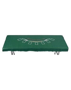 Rektangulær pokerbordduk