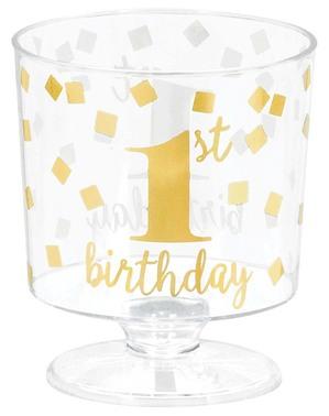 30 bicchieri di chupito primo compleanno