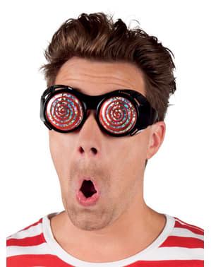 Okulary szalonego naukowca dla dorosłych