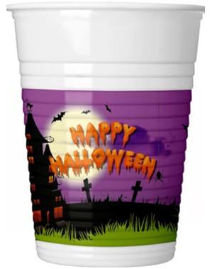 """8 """"Happy Halloween"""" Cups - Happy Spooky Halloween"""
