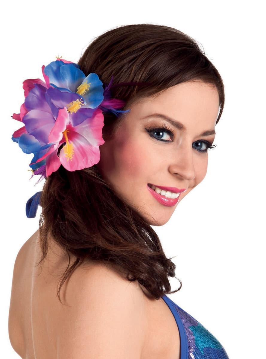 Fleur beaut hawa enne femme livraison rapide funidelia - Fleure hawaienne ...