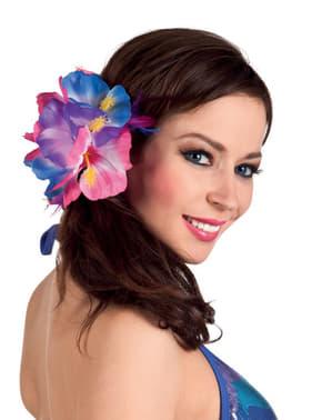 Flor de beleza havaiana para mulher