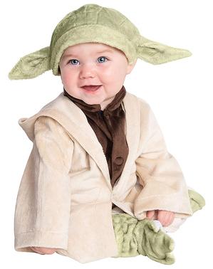 Costum Yoda  - Star Wars pentru bebeluși