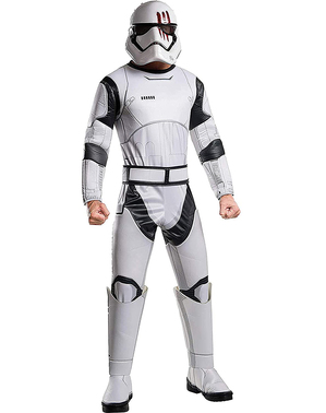 Disfarce de Stormtrooper FN-2187 – Star Wars: O Despertar da Força