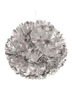 Decorative Silver Pompom- Línea Colores Básicos