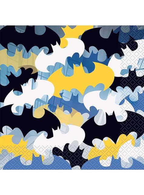 16 servilletas Batman