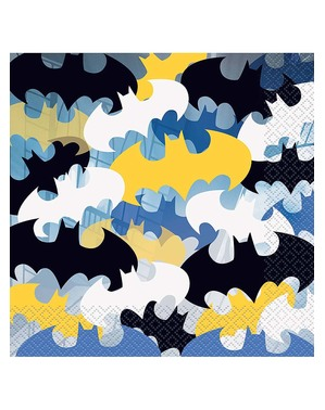 16 Servietten Batman