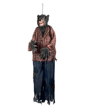 Figura de hombre lobo decorativa