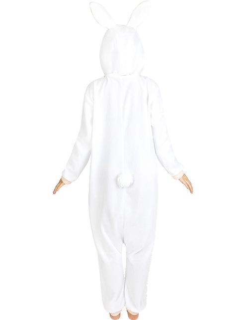 Disfraz de conejo onesie para adulto