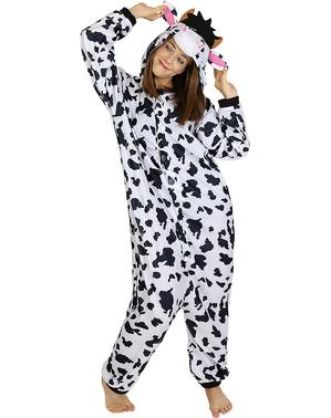 Costum de vacă pentru adulți