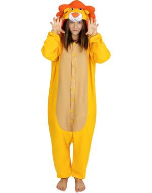 Overalový kostým lev pro dospělé