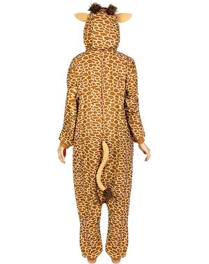 Déguisement girafe onesie adulte
